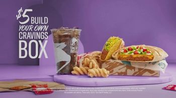 Taco Bell My Cravings Box TV Spot, 'Build Your Own $5 Cravings Box' - Thumbnail 6