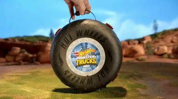 Hot Wheels Monster Trucks Stunt Tire TV Spot, 'Unfolds Into an Epic Stunt Arena' - Thumbnail 3
