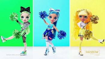 Rainbow High Cheer TV Spot, 'Color, Style, Friends So Fly' - Thumbnail 6