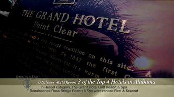Robert Trent Jones Golf Trail TV Spot, 'Three Out of Four Top Hotels'