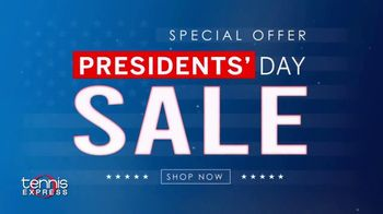 Tennis Express 72 Hour Presidents Day Sale TV Spot, '20% Off: Free Shipping' - Thumbnail 2