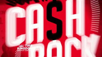 Tire Kingdom Super Cash Back Event TV Spot, '$100 Rebate and $200 Off'