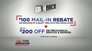 Tire Kingdom Super Cash Back Event TV Spot, '$100 Rebate and $200 Off' - Thumbnail 7