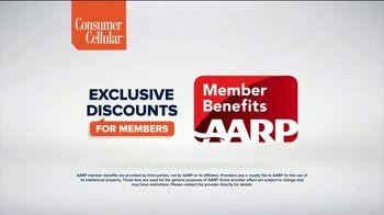 Consumer Cellular TV Spot, 'Flexible Plans: Get $50' - Thumbnail 7