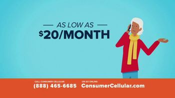 Consumer Cellular TV Spot, 'Better Value: Get $50' - Thumbnail 3