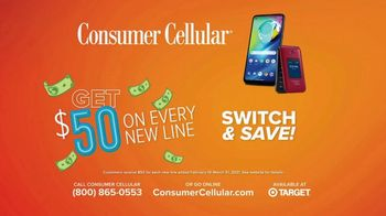 Consumer Cellular TV Spot, 'Folks: Chrissy and Mitch: Get $50' - Thumbnail 10