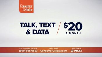 Consumer Cellular TV Spot, 'Folks: Chrissy and Mitch: Get $50' - Thumbnail 3