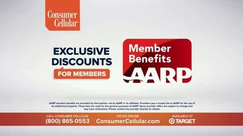 Consumer Cellular TV Spot, 'Folks: Chrissy and Mitch: Get $50' - Thumbnail 9