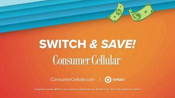 Consumer Cellular TV Spot, 'Get $50 Big Ones' - Thumbnail 9