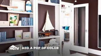 HGTV HOME by Sherwin-Williams TV Spot, 'Pop of Color'