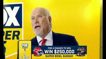 FOX Bet Super 6 TV Spot, 'Super Bowl LV: Win $250,000 of Terry's Money' - 144 commercial airings