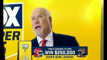 FOX Bet Super 6 TV Spot, 'Super Bowl LV: Win $250,000 of Terry's Money' - 144 commercial airings