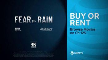 DIRECTV Cinema TV Spot, 'Fear of Rain' - Thumbnail 9