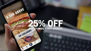 Jersey Mike's TV Spot, 'Craving Into Saving: 25% Off' - Thumbnail 4