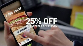 Jersey Mike's TV Spot, 'Craving Into Saving: 25% Off' - Thumbnail 5