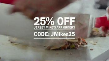 Jersey Mike's TV Spot, 'Craving Into Saving: 25% Off' - Thumbnail 7