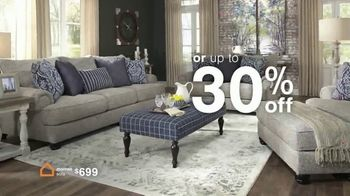 Ashley HomeStore Biggest Presidents Day Sale Ever TV Spot, 'No Interest and 30% Off' - Thumbnail 7