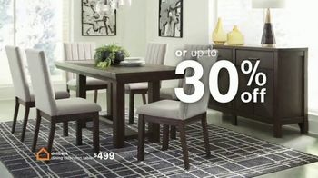 Ashley HomeStore Biggest Presidents Day Sale Ever TV Spot, 'No Interest and 30% Off' - Thumbnail 8