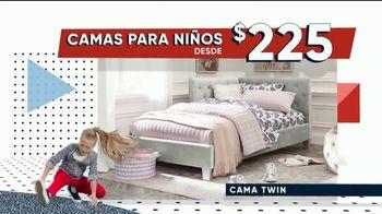 Rooms to Go Kids Venta por el Día de los Presidentes TV Spot, 'Camas para niños: $225 dólares' [Spanish] - Thumbnail 1