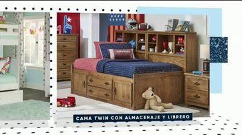 Rooms to Go Kids Venta por el Día de los Presidentes TV Spot, 'Camas para niños: $225 dólares' [Spanish] - Thumbnail 3