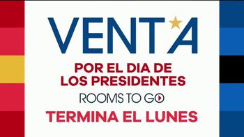Rooms to Go Venta por el Día de los Presidentes TV Spot, 'Seccionales y camas' [Spanish] - Thumbnail 2