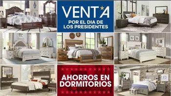 Rooms to Go Venta por el Día de los Presidentes TV Spot, 'Seccionales y camas' [Spanish] - Thumbnail 5
