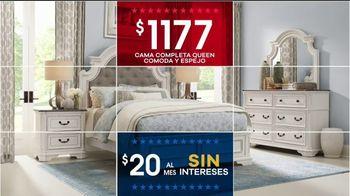 Rooms to Go Venta por el Día de los Presidentes TV Spot, 'Seccionales y camas' [Spanish] - Thumbnail 6