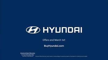 Hyundai Big Deal Event TV Spot, 'Presidents Day: Pretty Big Deal' [T2] - Thumbnail 5