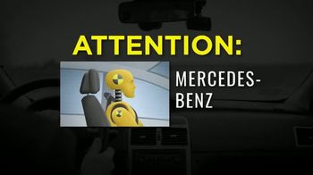 Thomas J. Henry Injury Attorneys TV Spot, 'Defective Headrest Injury Claims: Mercedes'