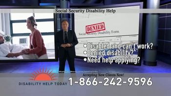 Disability Help Today TV Spot, 'Can't Work' - Thumbnail 3