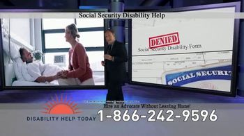 Disability Help Today TV Spot, 'Can't Work' - Thumbnail 4