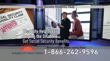 Disability Help Today TV Spot, 'Can't Work' - Thumbnail 5