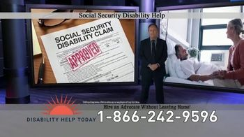 Disability Help Today TV Spot, 'Can't Work'