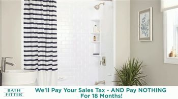 Bath Fitter TV Spot, 'New Year's Resolution: We'll Pay Your Sales Tax' - Thumbnail 6