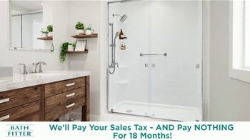 Bath Fitter TV Spot, 'New Year's Resolution: We'll Pay Your Sales Tax' - Thumbnail 7