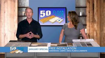 50 Floor TV Spot, 'FOX 5 Atlanta: Brand New Year: $100 Off' - Thumbnail 6