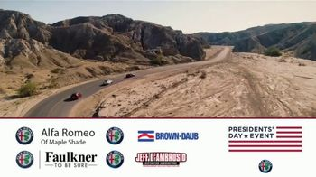 Alfa Romeo Presidents Day Event TV Spot, 'Zero Down' [T2] - Thumbnail 10