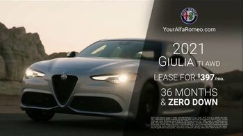 Alfa Romeo Presidents Day Event TV Spot, 'Zero Down' [T2] - Thumbnail 5