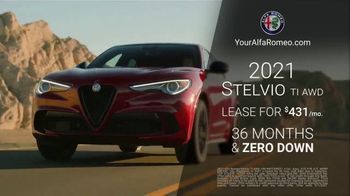 Alfa Romeo Presidents Day Event TV Spot, 'Zero Down' [T2] - Thumbnail 7