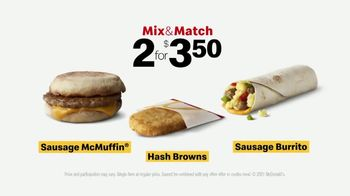 McDonald's TV Spot, 'The You Get the Baby, I'll Get the Breakfast Meal: Mix & Match' - Thumbnail 8