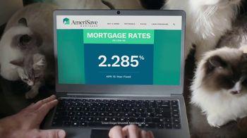 AmeriSave Mortgage TV Spot, 'Mike the Cat Lady Man: Mortgage Rate' - Thumbnail 7