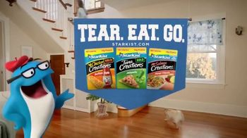 StarKist Creations Pouches TV Spot, 'Tear. Eat. Go.' - Thumbnail 8