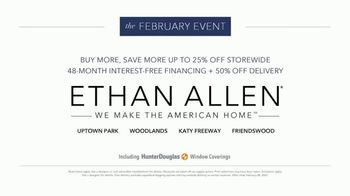 Ethan Allen February Event TV Spot, 'Buy More, Save More: Up to 25%' - Thumbnail 10