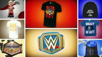 WWE Shop TV Spot, 'Endless Possibilities: Tees as Low as $14 and 20% Off Championship Titles' Song by Command Sisters - Thumbnail 5