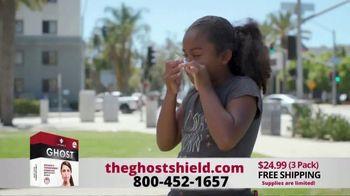 ViruShield Ghost TV Spot, 'Facial Freedom' - Thumbnail 2