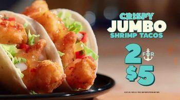 Del Taco Crispy Jumbo Shrimp Tacos TV Spot, 'CRYS*P BOYZ: Taco, Taco, Taco' - Thumbnail 10
