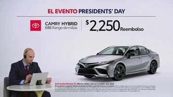 Toyota El evento Presidents Day TV Spot, 'Comentarista deportivo: Camry Hybrid' [Spanish] [T2] - Thumbnail 1