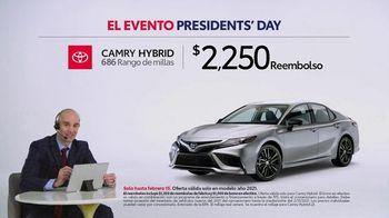 Toyota El evento Presidents Day TV Spot, 'Comentarista deportivo: Camry Hybrid' [Spanish] [T2] - Thumbnail 2