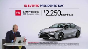 Toyota El evento Presidents Day TV Spot, 'Comentarista deportivo: Camry Hybrid' [Spanish] [T2] - Thumbnail 3