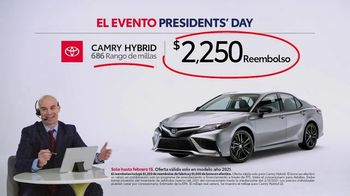 Toyota El evento Presidents Day TV Spot, 'Comentarista deportivo: Camry Hybrid' [Spanish] [T2] - Thumbnail 5